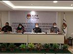 KPU Provinsi Kepri memgesahkan 3 Paslon berkompetisi di Pilkada Kepri