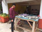 Ini lah lapak ikan segar Bona Oleng yang berdomisili di jalan Sei Jang, Tanjungpinang