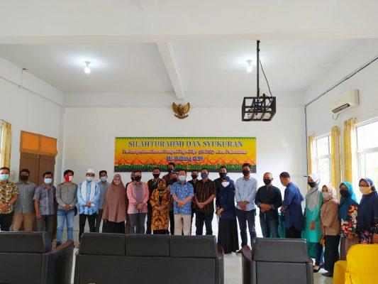 Walikota Tanjungpinang Rahma S.IP saat photo bersama Alumni Stisipol Raja Haji