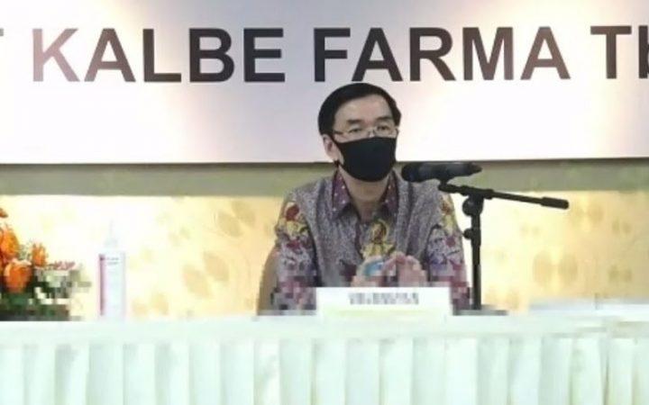 Presiden Direktur PT Kalbe Farma Tbk. Vidjongtius, photo: bisnis.com