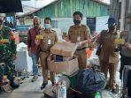Kegiatan menabung di Bank Sampah Amad oleh Kelurahan Kemboja