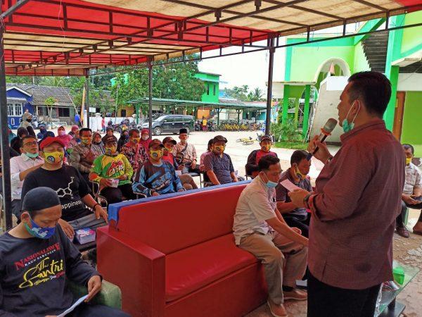 Cagub Kepri Ansar Ahmad saat kampanye di Perum Bumi Sakinah Tembesi, Kota Batam