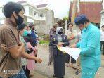 Walikota Tanjungpinang Rahma S.IP saat mendengar kelugan warga terkait adanya pembangunan tower di wilayah tempat tinggalnya