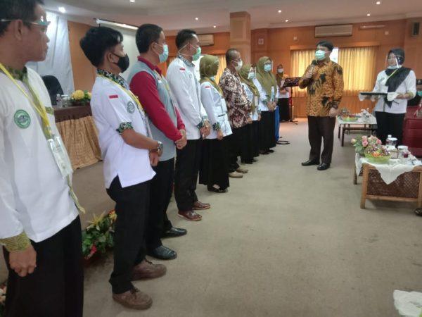 Wakil Ketua DPRD Kota Tanjungpinang Ade Angga saat menghadiri Rakorda