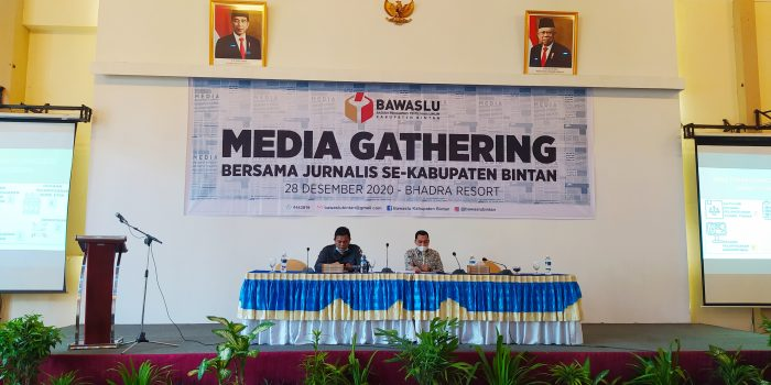 Media Gathering Bawaslu Bintan