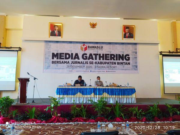 Media Gathering Bawaslu Bintan