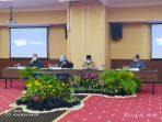 Walikota Tanjungpinang Rahma S.IP saat melaksanakan pertemuan dengan GM Hotel Aston Tanjungpinang