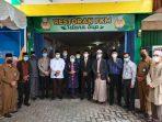Walikota Tanjungpinang Rahma S.IP usai meresmikan Kantor FKM Tanjungpinang