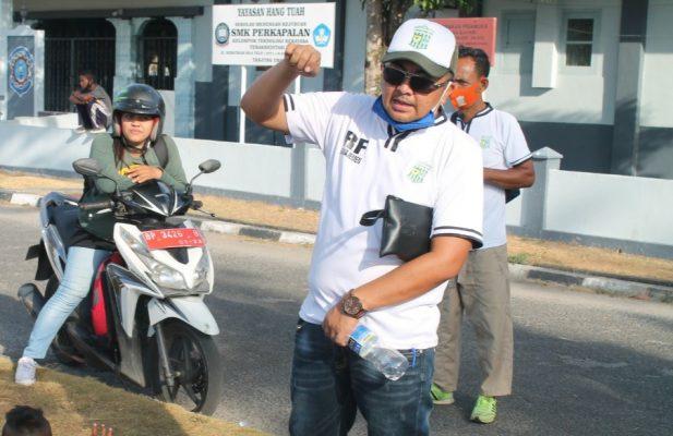Sekretaris Umum PSTK Tanjungpinang Kepri Rony Frantika, S.Sos