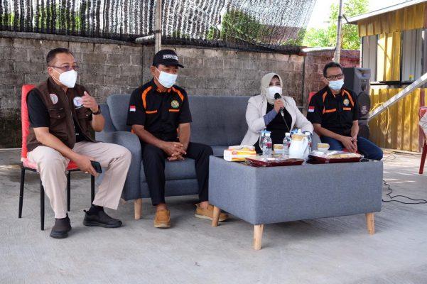 Walikota Tanjungpinang Rahma S.IP saat besembang bercerite bersama PERPAT Tanjungpinang