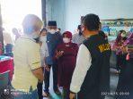 Walikota Tanjungpinang Rahma S.IP saat pantau vaksinasi di Gedung PSMTI Tanjungpinang
