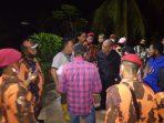 MPC PP Kota Tanjungpinang saat turun ke lokasi penimbunan