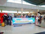 14 Orang (Peserta Pelatihan) Warga Tanjungpinang saat hendak berangkat ke BBPKL Bekasi lewat Bandara RHF Tanjungpinang