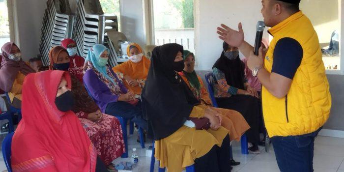 Anggota DPRD Kota Tanjungpinang Dasril SP saat Reses