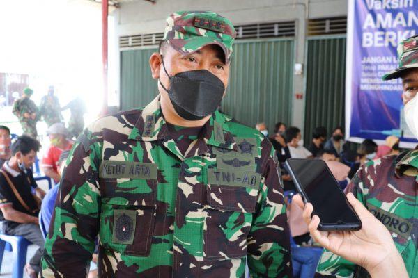 Dandim 0315/Bintan Kolonel Inf I Gusti Ketut Artasuyasa saat dikonfirmasi awak media
