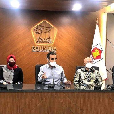 Partai Gerindra saat membahas penanganan Covid-19 di Indonesia