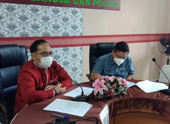 Kepala Badan (Kaban) Kesbangpol Kota Tanjungpinang Achmad Nur Fatha