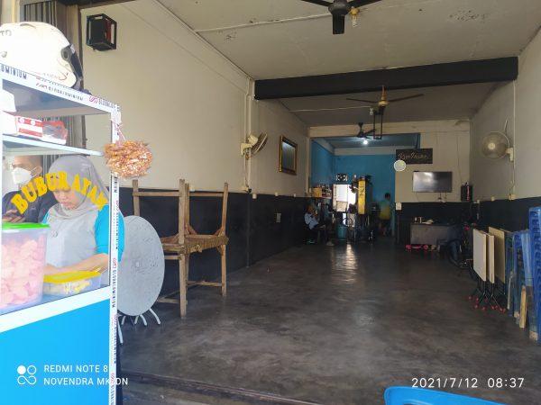 Kedai Kopi Daydo di jalan R.H Fusabililah Km 8 atas