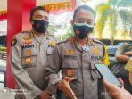 Kapolres Tanjungpinang AKBP Fernando saat Konpers di Mako Polres