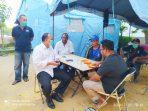 Kajari Tanjungpinang Joko Yuhono saat bercengkrama bersama Relawan