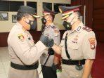 Kompol Reza Morandy Tarigan salam Komando bersama Kombes Pol Yos Guntur