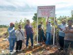 Inilah lokasi lahan yang diduga sengketa di wilayah Tanjung Permai, Kabupaten Bintan